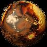 Elevation Mars Icon