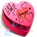 123 SMS D'amour Icon